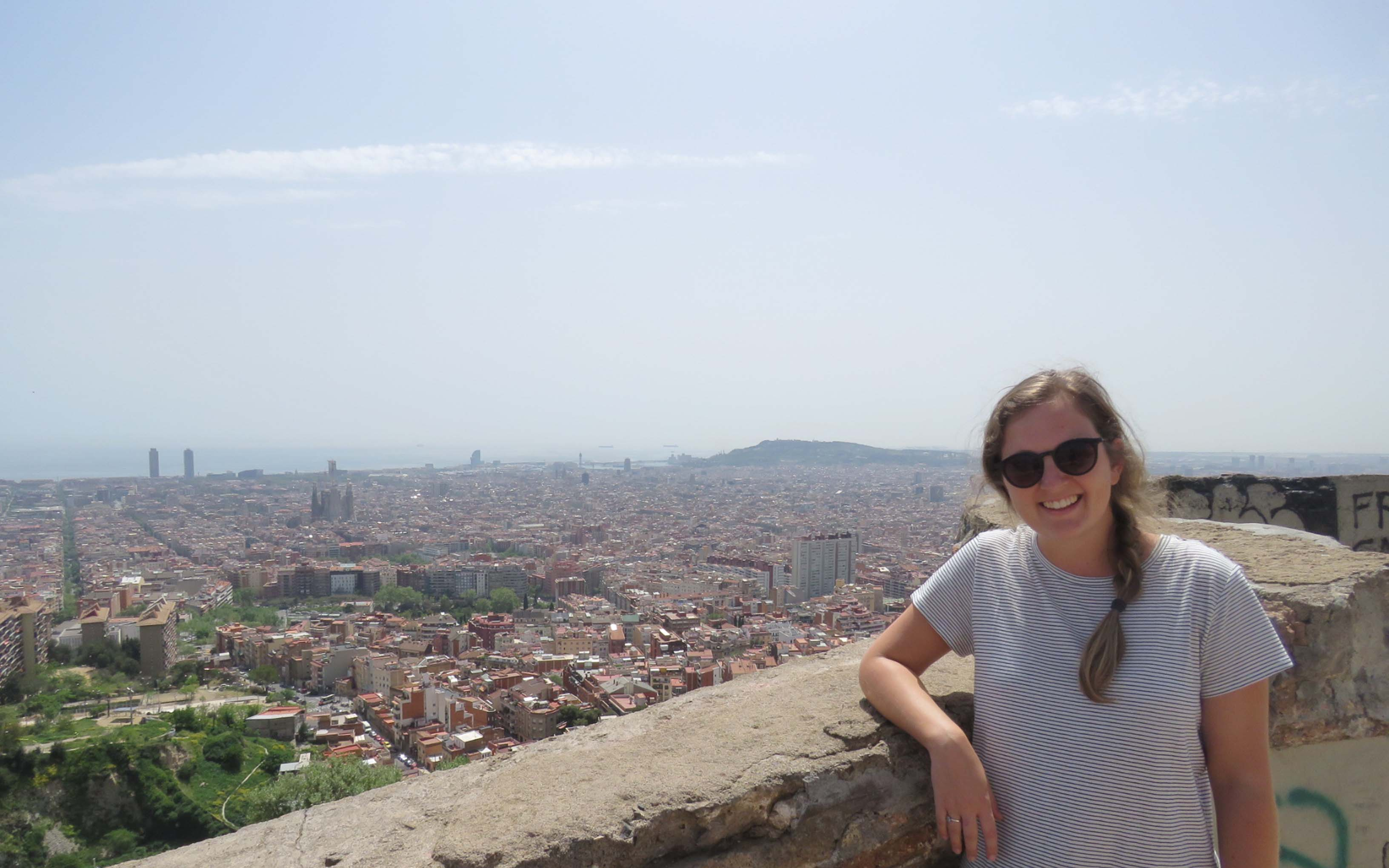 Suzanne Whitlock in Barcelona