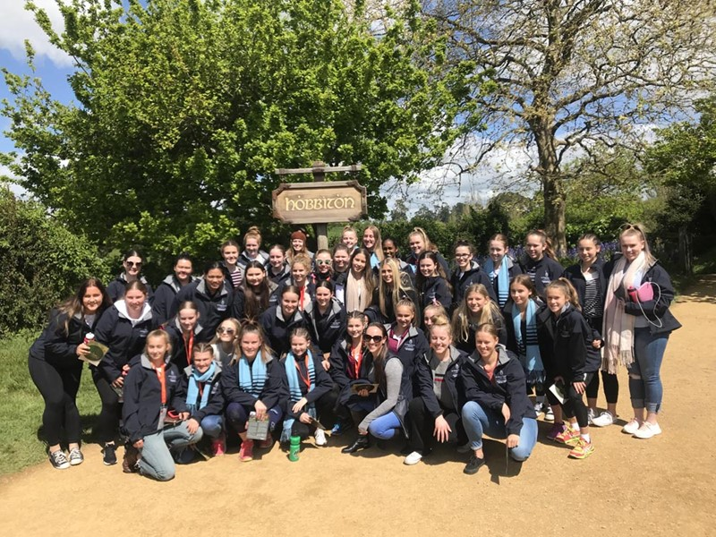 Maximising group numbers for overseas school tour