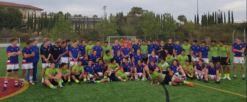 Rangitoto College USA Rugby Tour