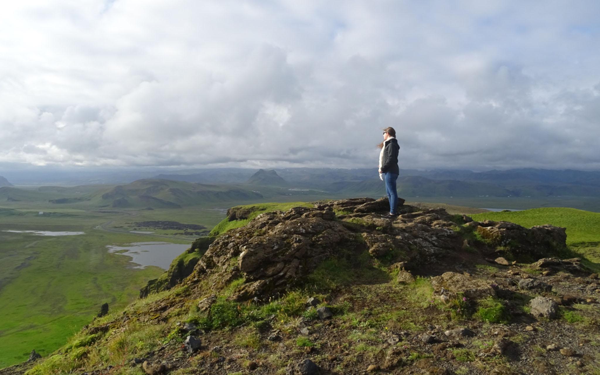 Emma Slater in Iceland