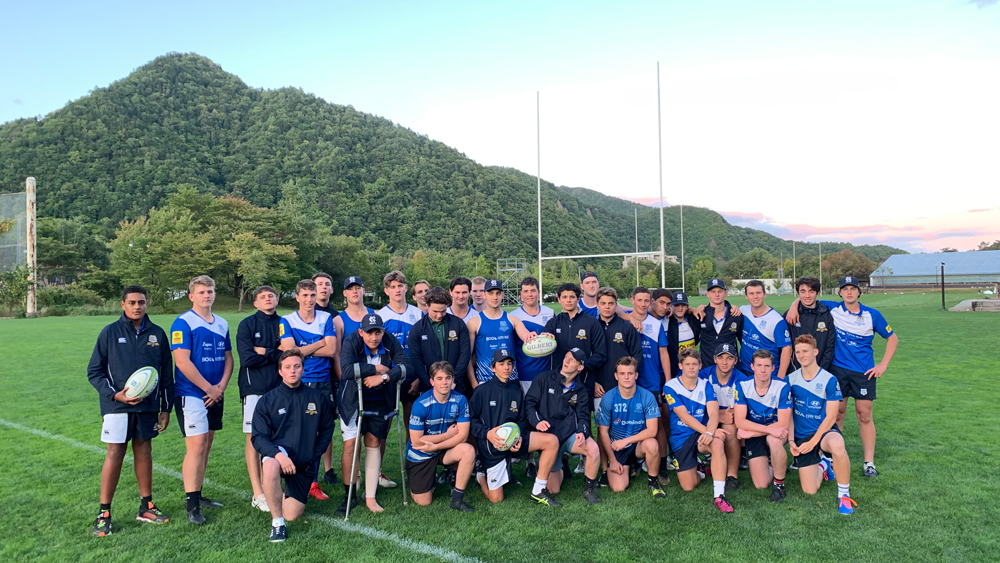 St Joseph's Nudgee College Japan Rugby Tour