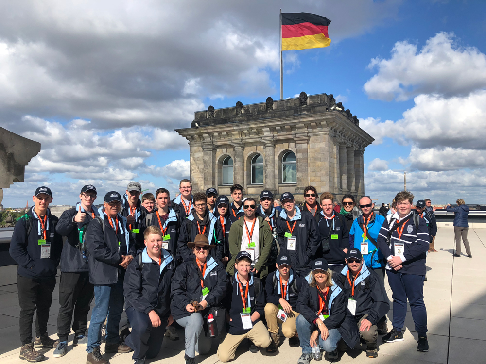 History Tour to Germany visiting Bundestag in Berlin