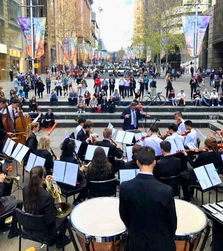 Australia Music School Trips Sydney concert