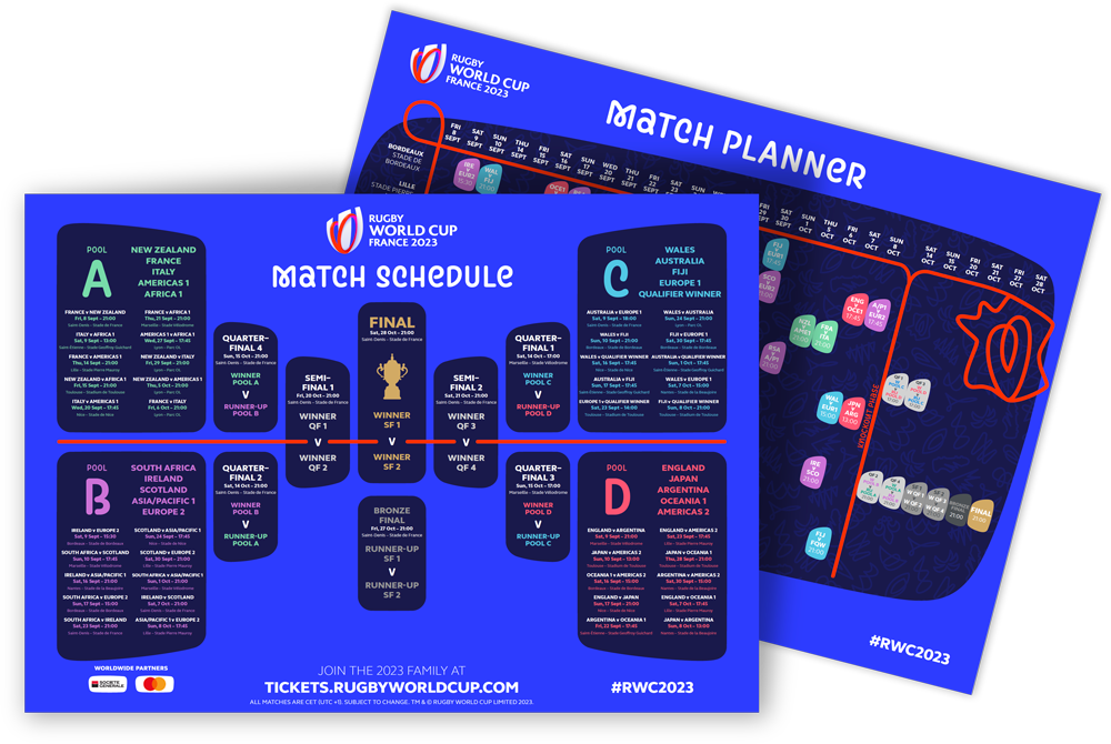 RWC Match Schedule